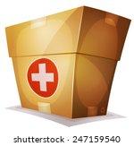 funny medicine box for ui game  ...