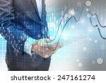 social network concept.data... | Shutterstock . vector #247161274