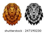 lion head | Shutterstock .eps vector #247190230