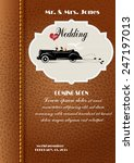wedding  the husband and the...   Shutterstock .eps vector #247197013