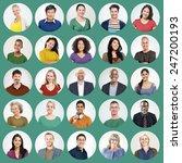 diverse people multi ethnic... | Shutterstock . vector #247200193