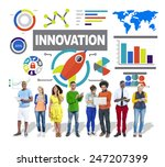 people digital device...   Shutterstock . vector #247207399
