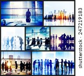 global business people... | Shutterstock . vector #247219183