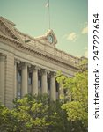 the weld county courthouse in... | Shutterstock . vector #247222654