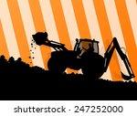 excavator loader hydraulic...