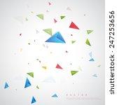 vector color background... | Shutterstock .eps vector #247253656