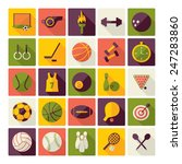 flat concept  design with... | Shutterstock . vector #247283860