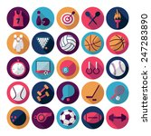 flat concept  design with... | Shutterstock . vector #247283890