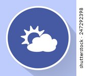 weather vector icon  | Shutterstock .eps vector #247292398