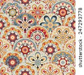 seamless abstract wallpaper... | Shutterstock .eps vector #247293778