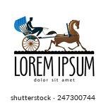 carriage vector logo design...   Shutterstock .eps vector #247300744