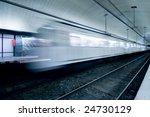 underground metro station at... | Shutterstock . vector #24730129