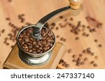 fresh from the bag roasted... | Shutterstock . vector #247337140