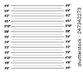 police lineup or mugshot... | Shutterstock .eps vector #247342273