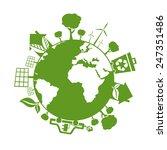 illustrations of concept earth... | Shutterstock .eps vector #247351486