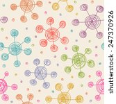vector seamless pattern with...   Shutterstock .eps vector #247370926