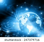 best internet concept of global ...   Shutterstock . vector #247379716