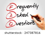 frequently asked questions  faq ... | Shutterstock . vector #247387816