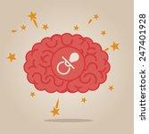 brain concept illustration  new ... | Shutterstock .eps vector #247401928