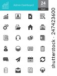 these icons are designed... | Shutterstock .eps vector #247423600