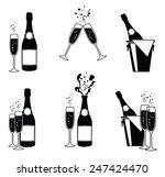 vector illustrations of several ... | Shutterstock .eps vector #247424470