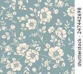 Seamless Floral Wallpaper....