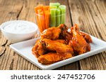 Buffalo Chicken Wings With...