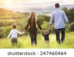 happy young family spending...   Shutterstock . vector #247460464
