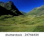 Scenic Glen Coe Scotland