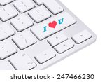 love concept  love key on the... | Shutterstock . vector #247466230