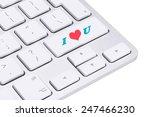 love concept  love key on the... | Shutterstock . vector #247466230