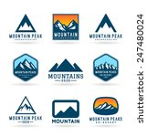 mountains  6  | Shutterstock .eps vector #247480024