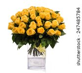 Bouquet Of Isolated Yellow...