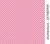 Polka Dots Vector Pattern