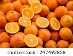Many Juicy Oranges