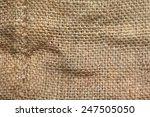coffee sack or gunny sack ... | Shutterstock . vector #247505050