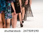 fashion show  catwalk runway... | Shutterstock . vector #247509190