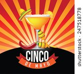 cinco de mayo burst icon eps 10 ... | Shutterstock .eps vector #247518778