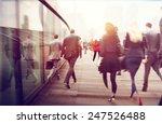 People Commuter Walking Rush...