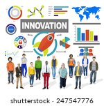 people togetherness creativity...   Shutterstock . vector #247547776