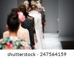 Fashion show  catwalk runway...