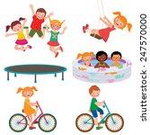 stock vector cartoon... | Shutterstock .eps vector #247570000