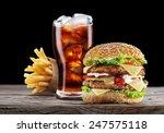 Hamburger  Potato Fries  Cola...