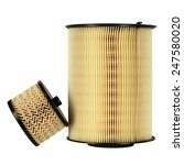 Small photo of Fuel filter and air filter, designed to ensure proper use and operation of car engine