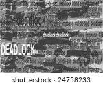 """grey brick wall with the words """"... 