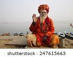 varanasi  india   december 27 ... | Shutterstock . vector #247615663