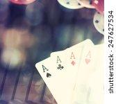 abstract backgound  poker game...   Shutterstock . vector #247627534