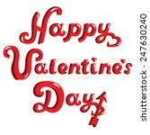 day valentine greeting... | Shutterstock .eps vector #247630240