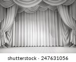 white curtains   Shutterstock . vector #247631056