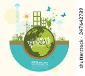 ecology infographic | Shutterstock .eps vector #247642789